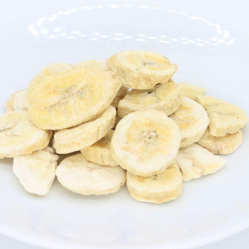 Sweet crispy dried banana chips in low price healthy natural snack banana chips