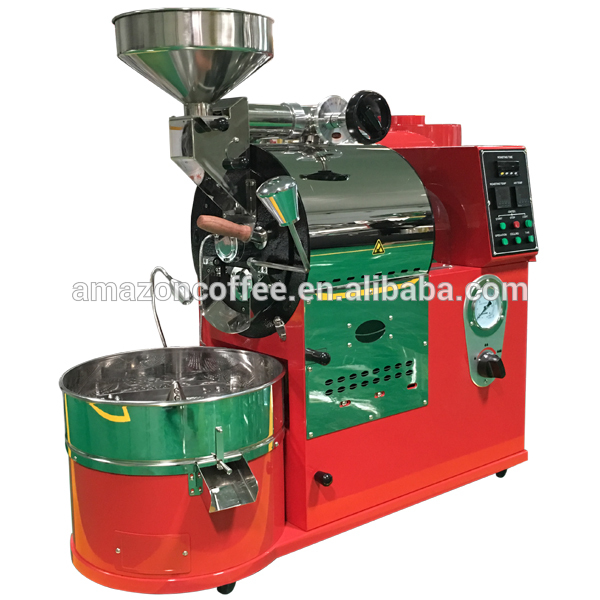 China Made High Quality Widely used fast cooling 1 kg coffeeroasting machine
