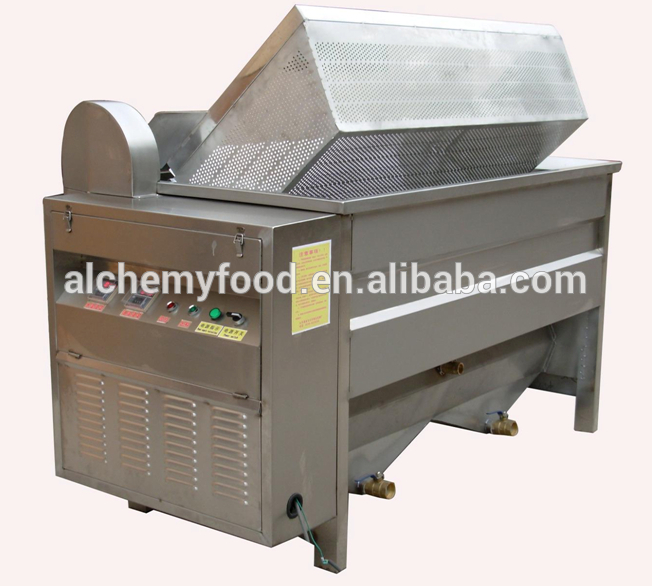 commercial stainless steel frying machine for food