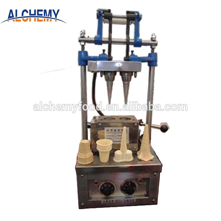 small ice cream waffle cone machine price/ wafer cone baking machine