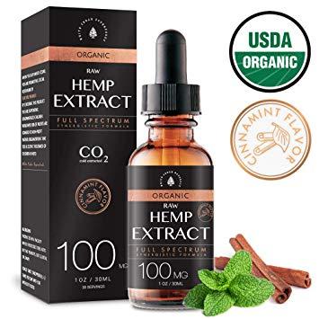 Pure Natural Herbal Extract Cannabidiol CBD Oil