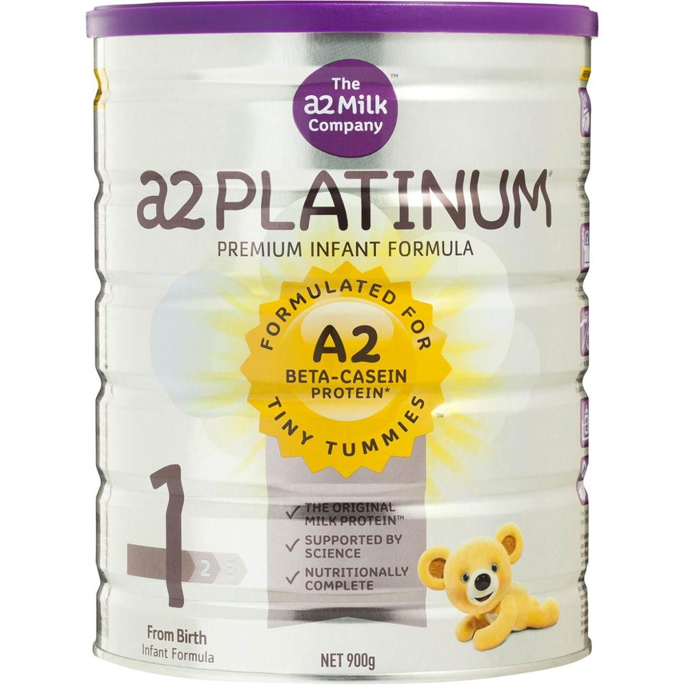 A2 platinum infant formula Stage 1 & 3