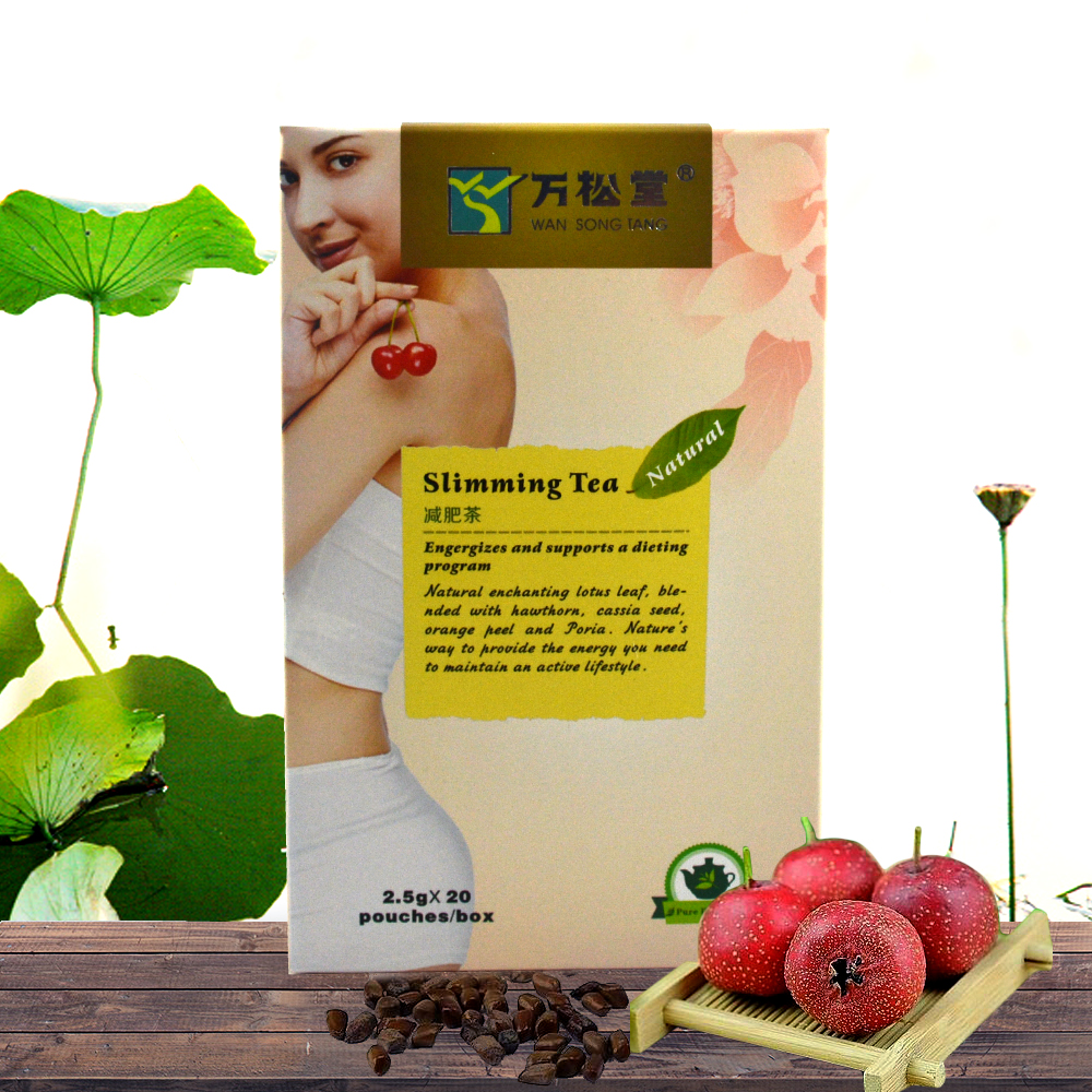 Wan songtang herbal slimming tea - 20 Tea Bags Detox Tea for Women and Men