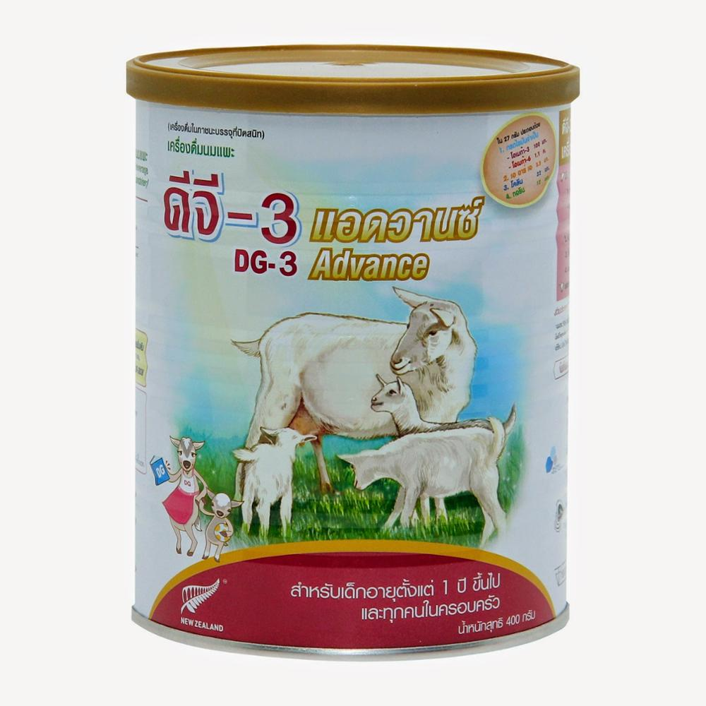 Baby Age(0-6Months) group and Can(Tinned) packaging Infant formula full fat goat milk powder 800g
