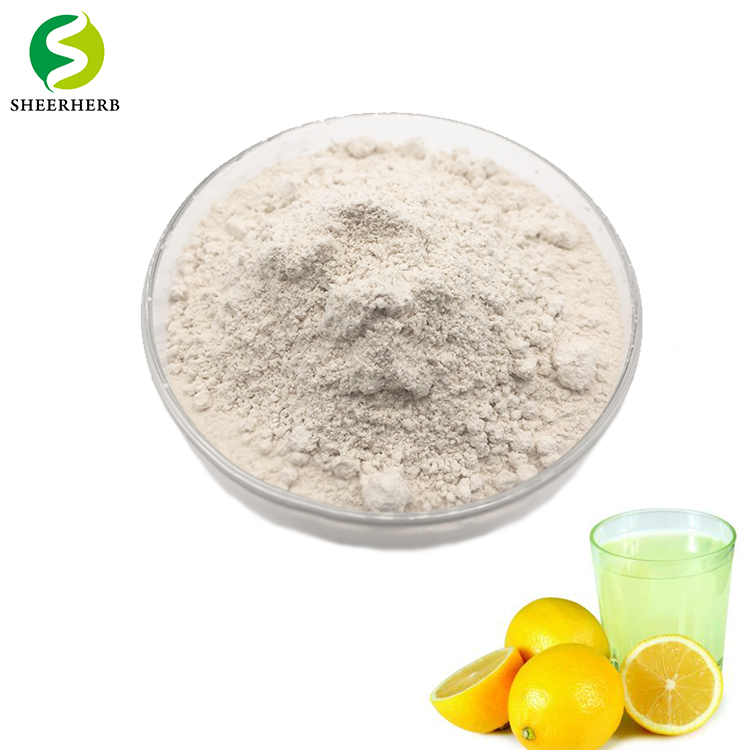 Supply lemon juice concentrate spray fine powder 80 to 120 mesh lemon spray powder