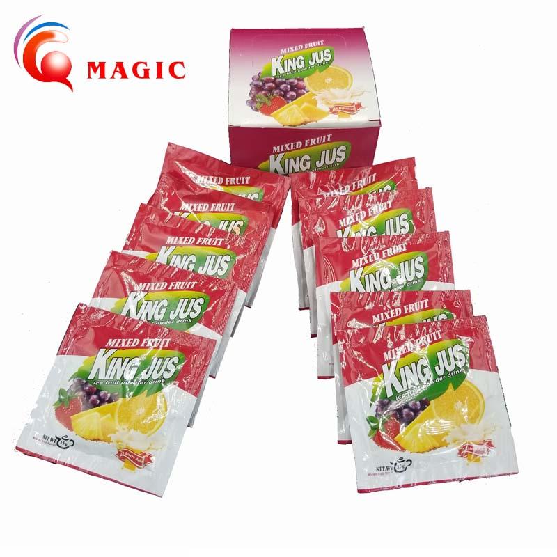 2019 Hot Sale Mixed fruit Juice Powder Flavored Fruit Instant Drink Turkey