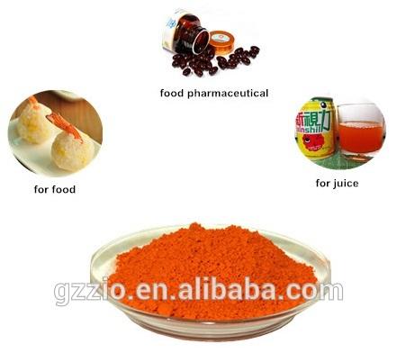 100% natural organic lutein powder marigold extract