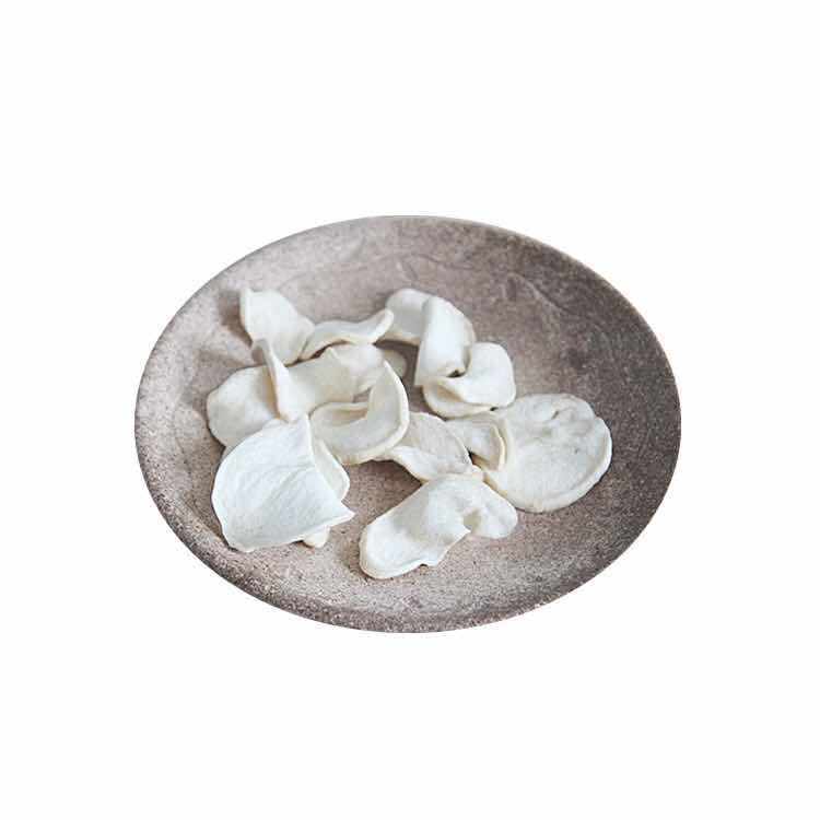 Salty low temperature vf snack dried pleurotus eryngii chip