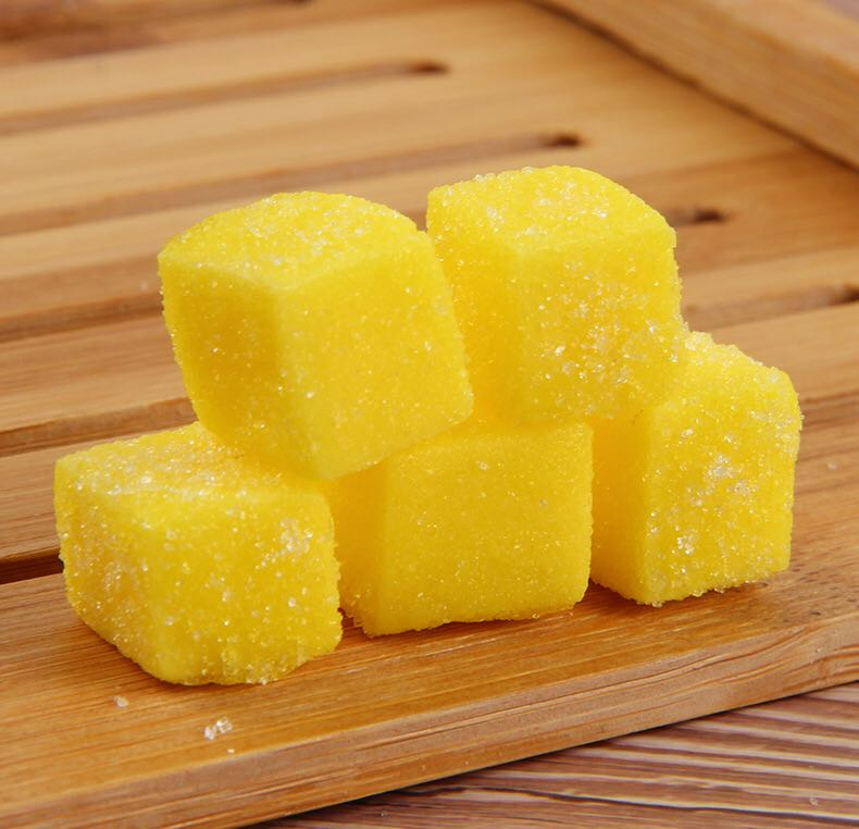 Original Manufacture Yummy Halal Snacks Durian Soft Jelly Gummy