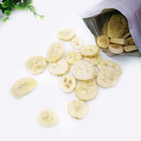 Crunchy dehydrated banana chips bulk dried banana slice