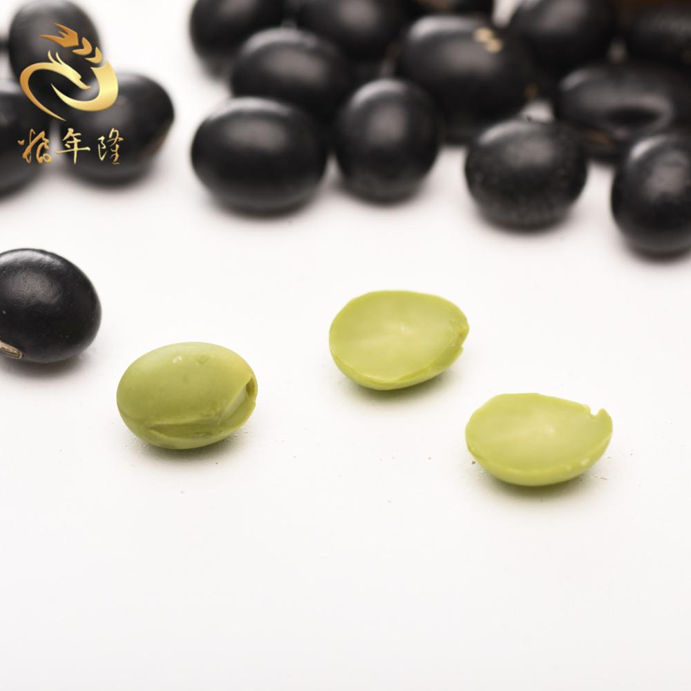 non-pollution Organic black soybean New crop dried organic black soybean with green kernel