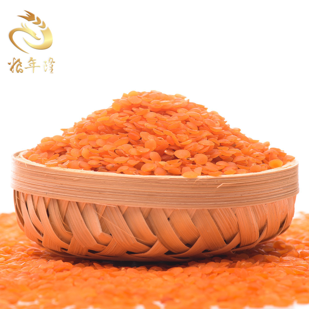 Precooked crops green food Red Lentil High Quality Organic Red Lentils In Bulk