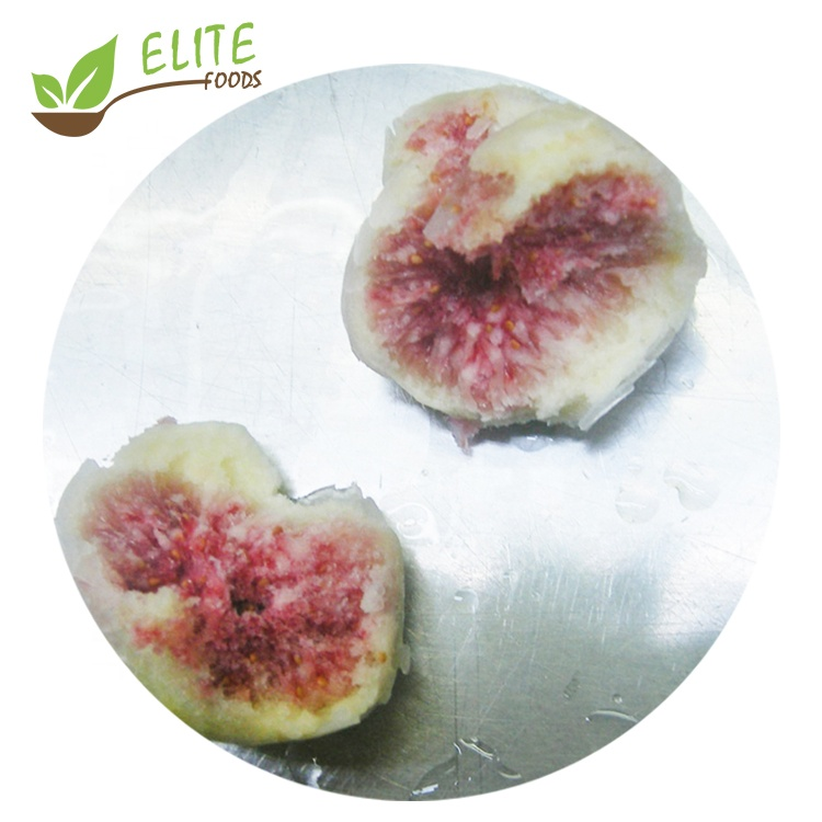 Iqf Wholesale Organic Ficus Carica Fruit Whole Sweet Frozen Figs peeled  For Sale