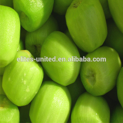 Export 100% raw material IQF frozen fresh kiwi fruit