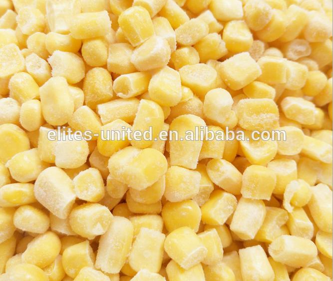 2016 new crop frozen sweet corn yellow corn kernels