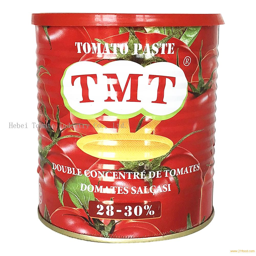 Wholesales Supplier 3kg Tomato Paste Tin Packing with Yellow Ceramic Coating inside