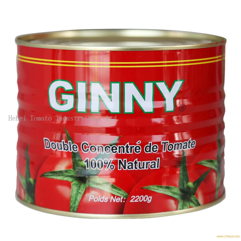 2.2kg Canned Tomato Paste Brix: 28-30%