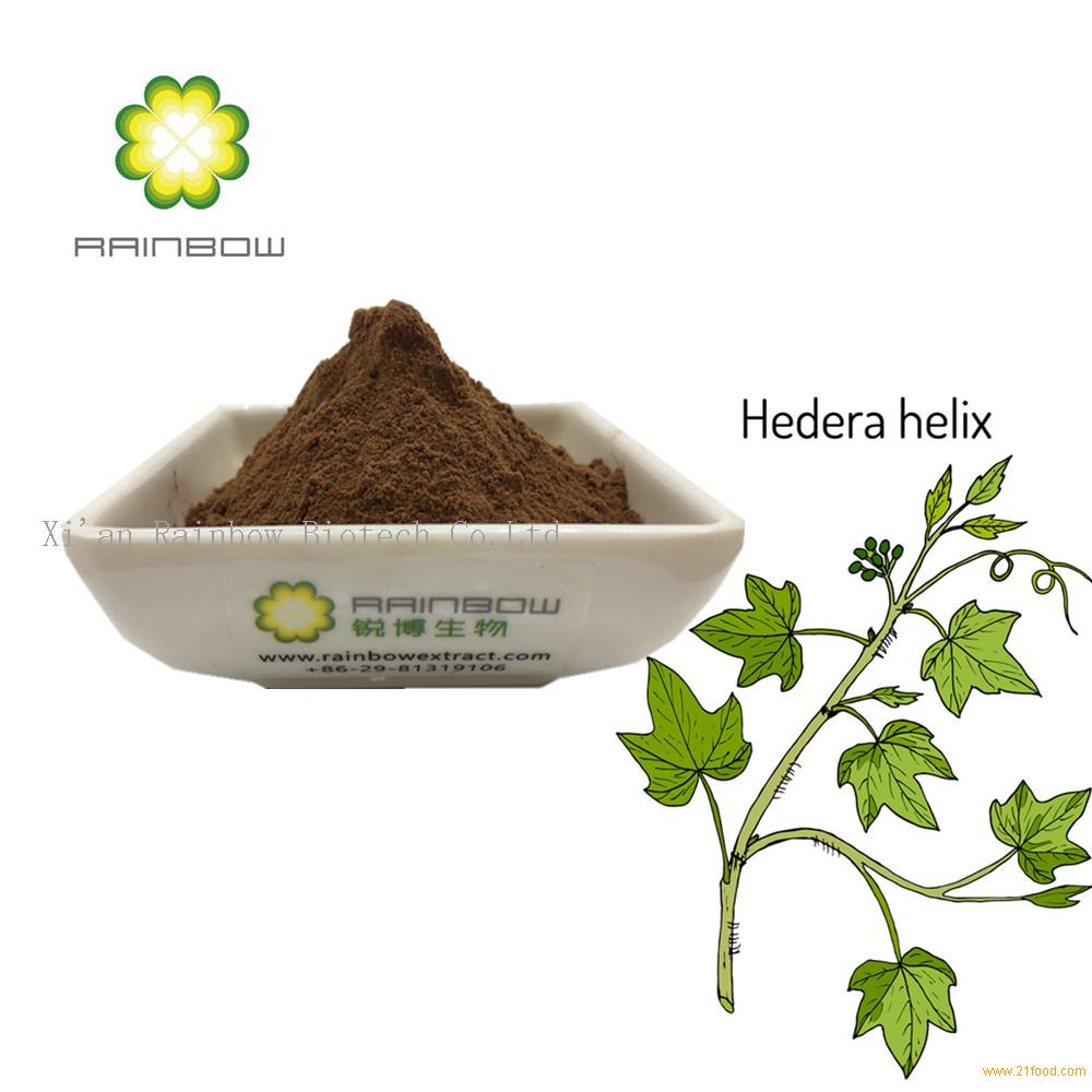 cough syrup material Ivy Leaf Extract Hederacoside C 10% hedera helix extract