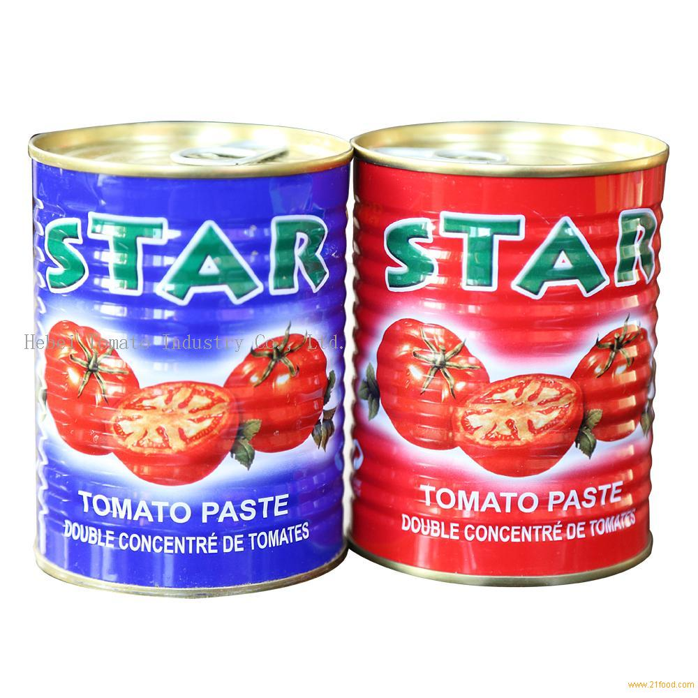 400g Tin Tomato Paste High Quality with Best Price