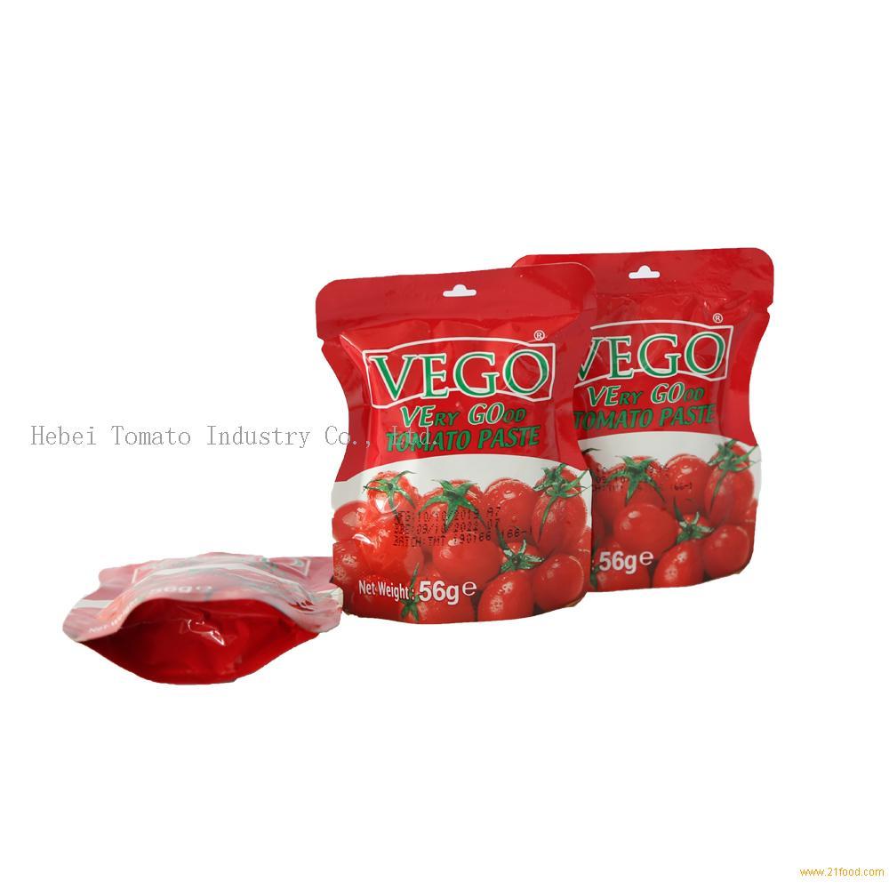 70g Standup Sachet Tomato Paste with Best Price