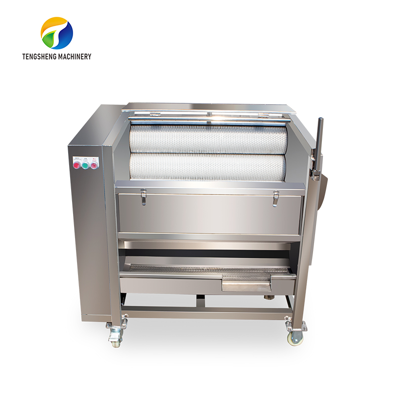 Large commercial stainless steel potato washing and peeling machine (TS-M300)