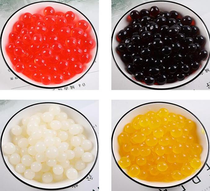 Solutions for popping boba