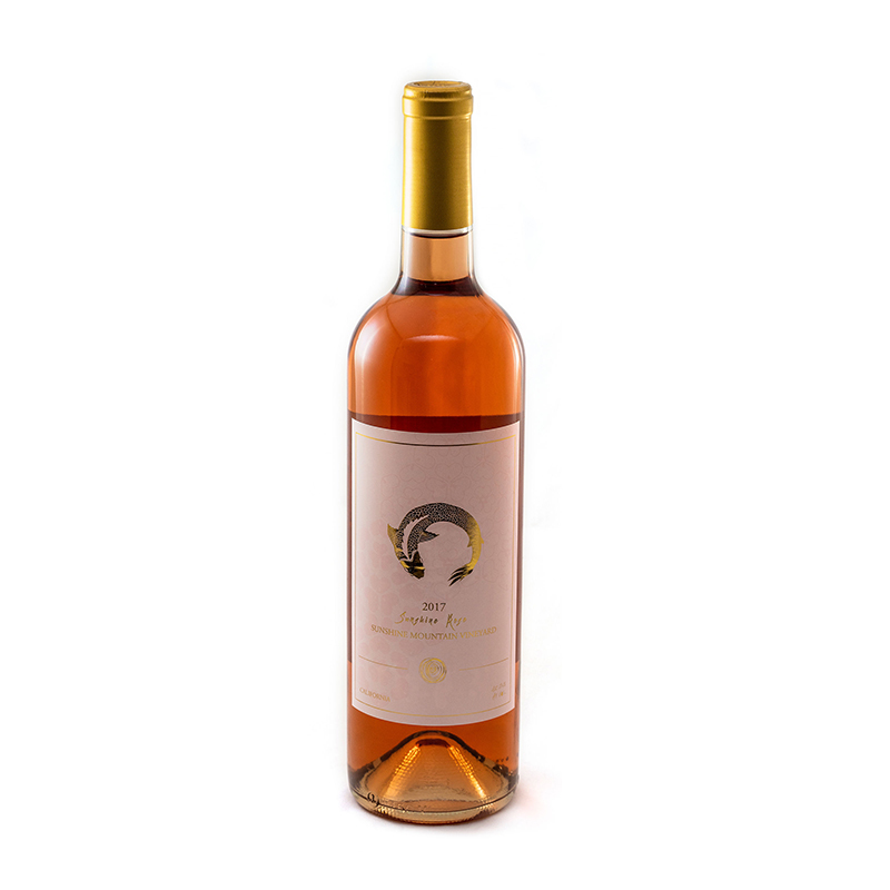 Dessert Rose Sparkling Wine 750 ml bottle