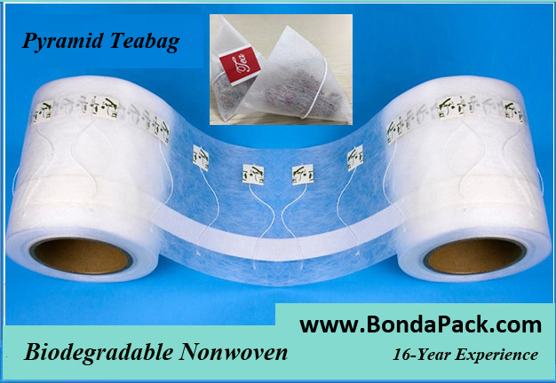 black tea pyramid tea bag for packaging machine