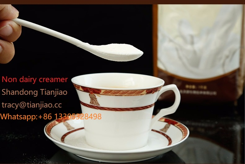 Non dairy creamer for instant coffee