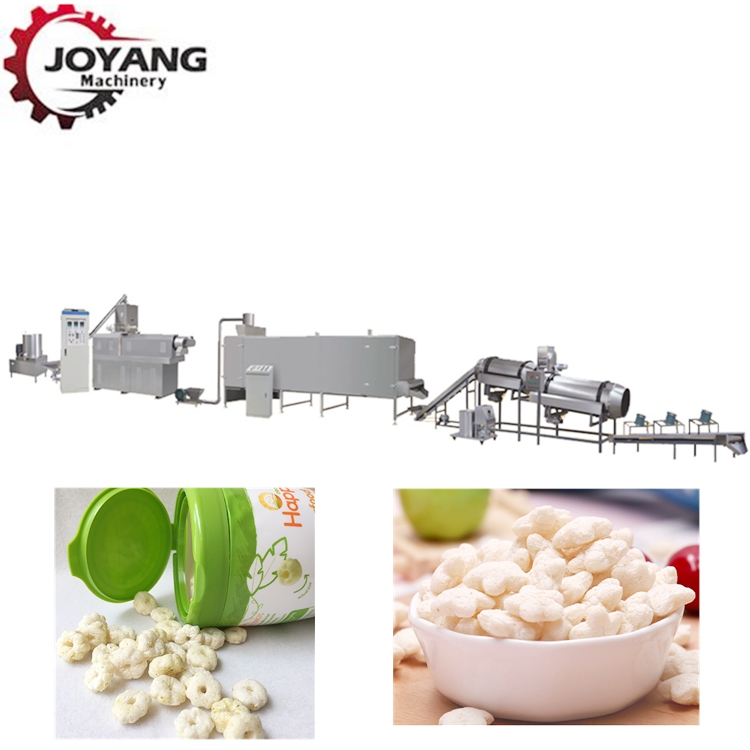2019 Corn Snacks Food Extruder Machines Puffed Snacks Production Line