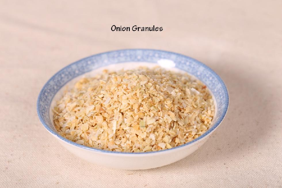 Dehydrated granulated onion 40-80 mesh