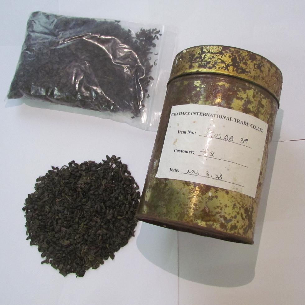 3505AA natural gunpowder green tea FOR maroc mali