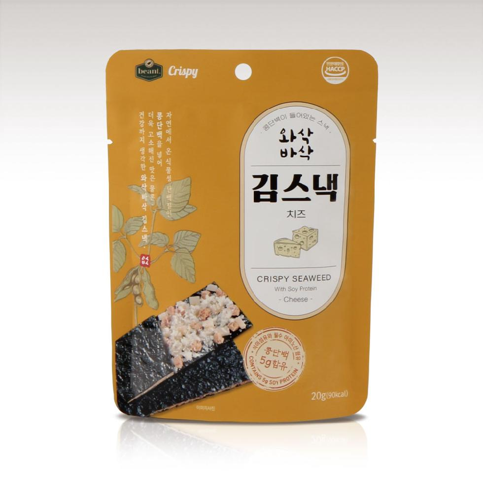 Beant Crispy Seaweed Snack with Soy Protein Cheese