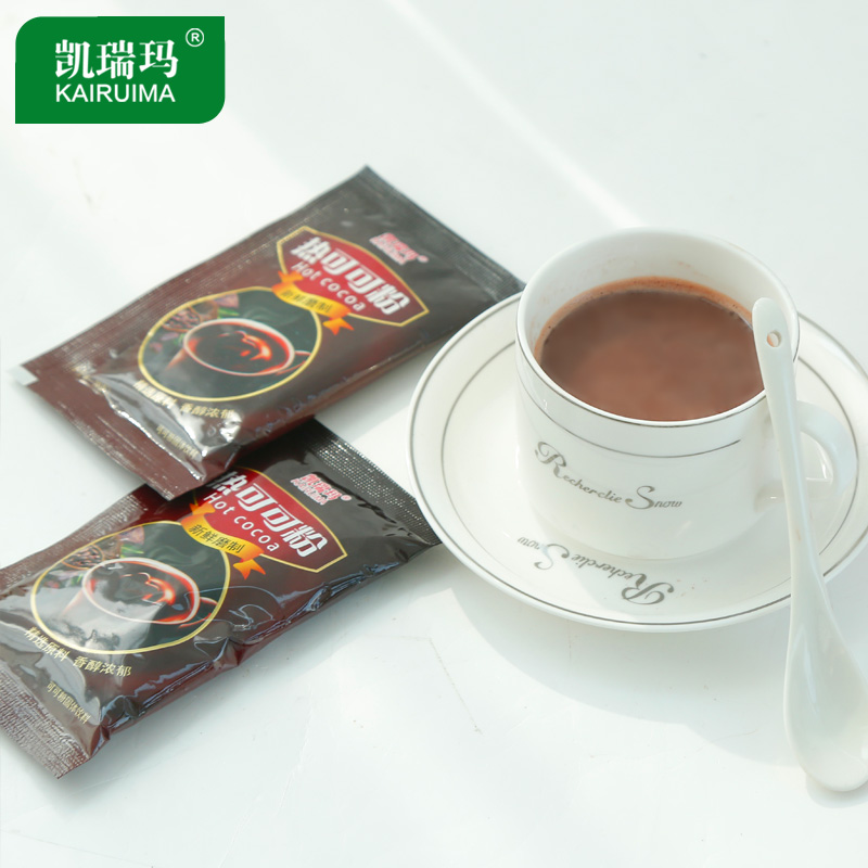 Hot chocolate drinking powder