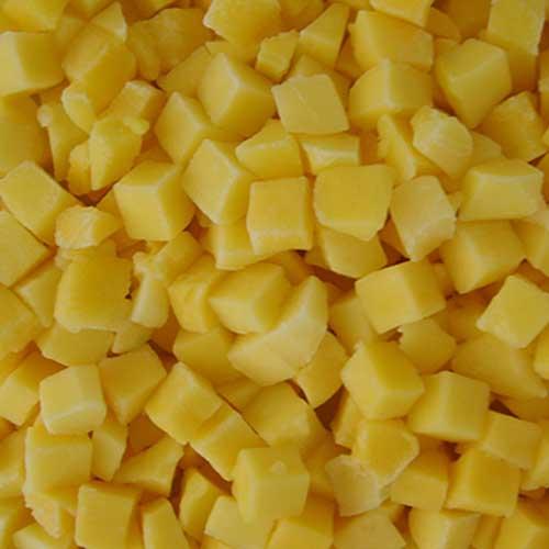 IQF frozen kaew mango dices
