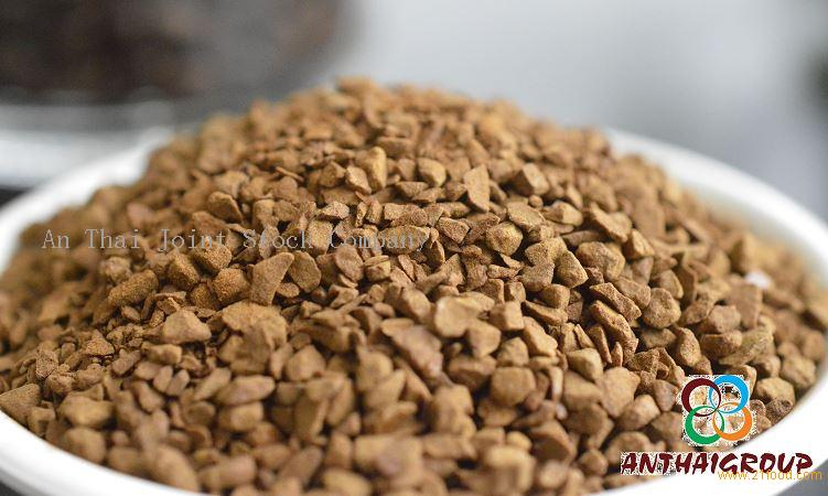 Freeze dried instant coffee raw materal An Thai Cafe