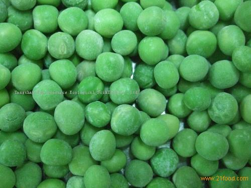 organic fresh IQF green peas 2020 harvet large quantity