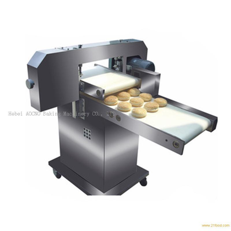 hamburger bread slicer