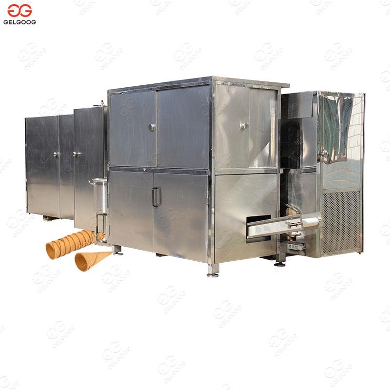 Automatic Rolled Sugar Cone Ice Cream Cone Production Line
