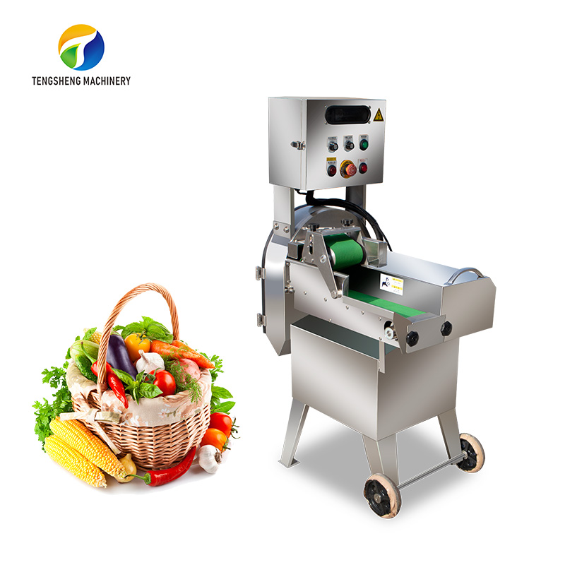 Copy of Industrial stainless steel vegetable cutter scallion cutting machine (TS-Q115)