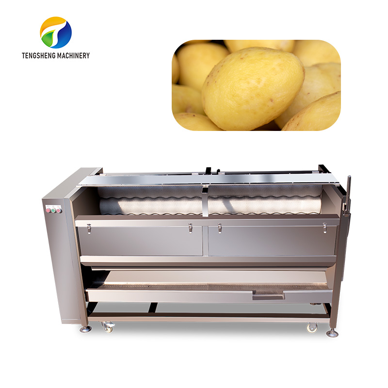 Large commercial potato taro carrot cleaning and peeling machine (TS-M800)