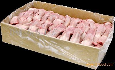 frozen pork front feet , frozen pork back hind