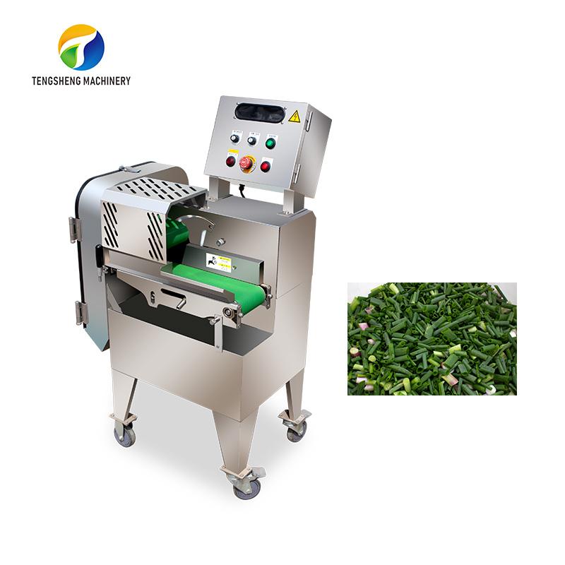 Single head electric Scallion cutting machine kitchen equipment TS-Q115A