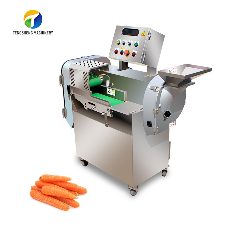 Double-end automatic vegetable cutting machine Carrot slicer TS-Q118A