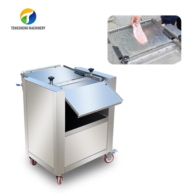 Electric Salmon fish skin removal machine peeling machine TS-SC1800