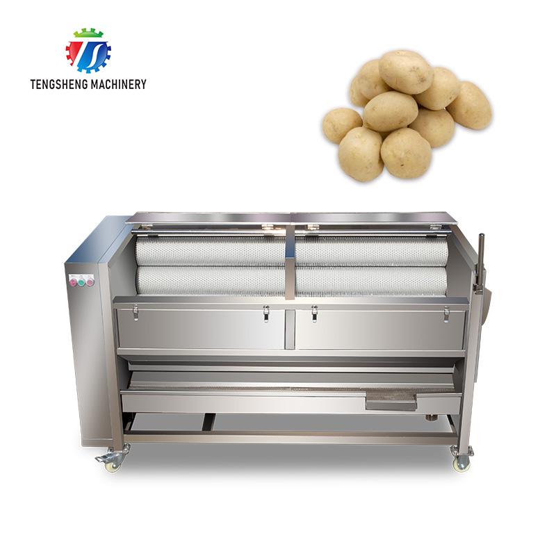 Potato/Carrot/Cassava/Taro/Sweet Potato Washing/Washer/Peeling/Peeler Machine for Factory TS-M699