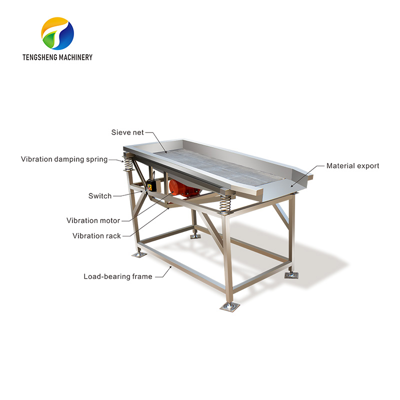Large automatic fruit and vegetable Vibrating machine TS-ZD18