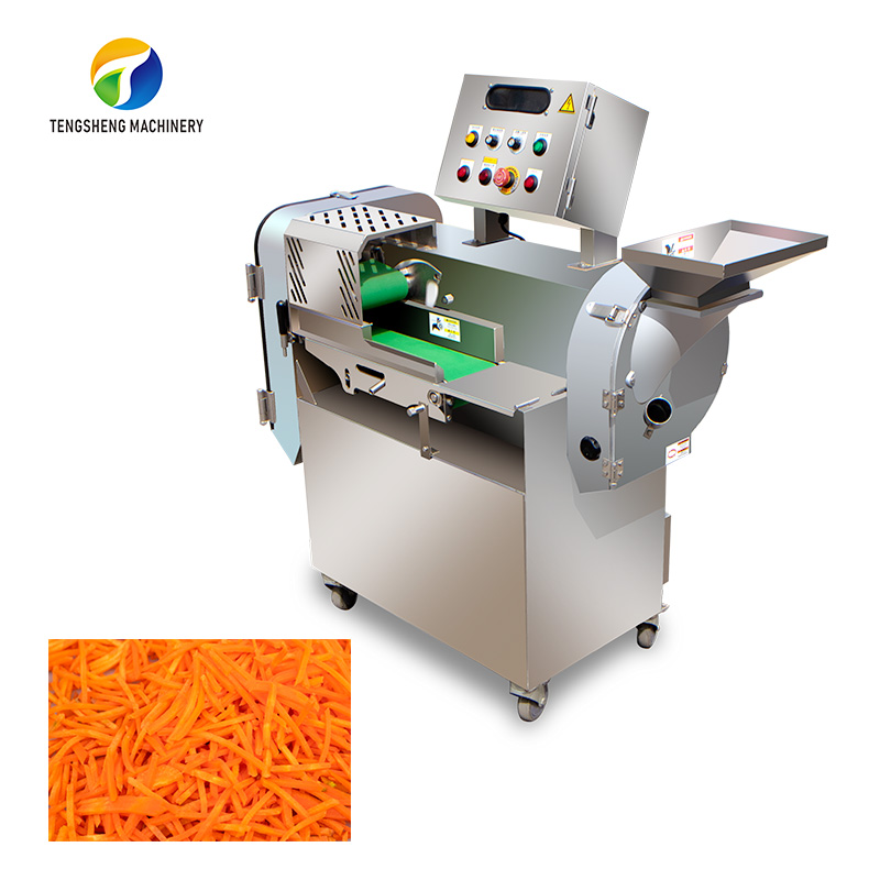 Double-end automatic vegetable cutting machine Cucumber slicer TS-Q118A