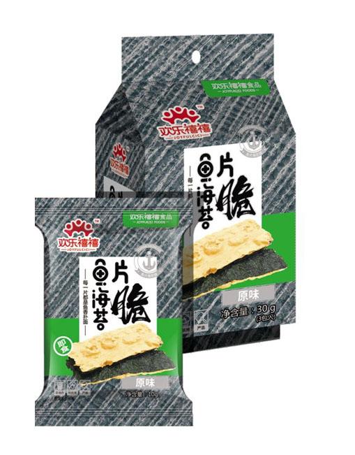 30g Original Seaweed Cod Fillet Seaweed Snacks in HACCP