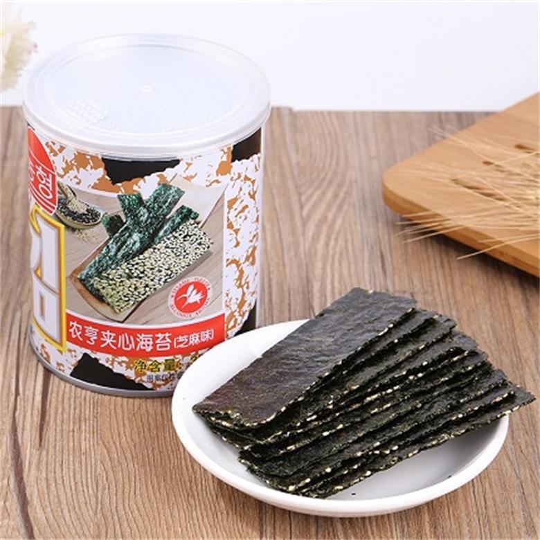 35g Canned Marine Vegetables Sesame Instant Seaweed Snack for Children